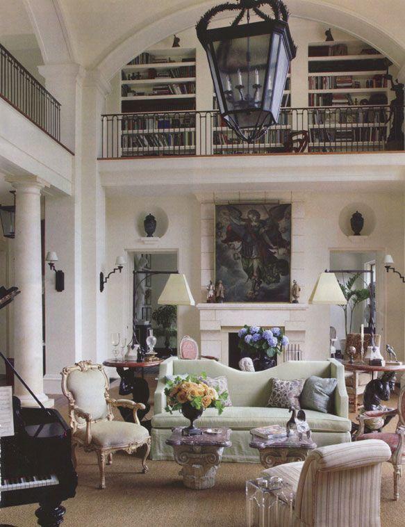 Roman Revival Matthew White Classic Italian Home Style