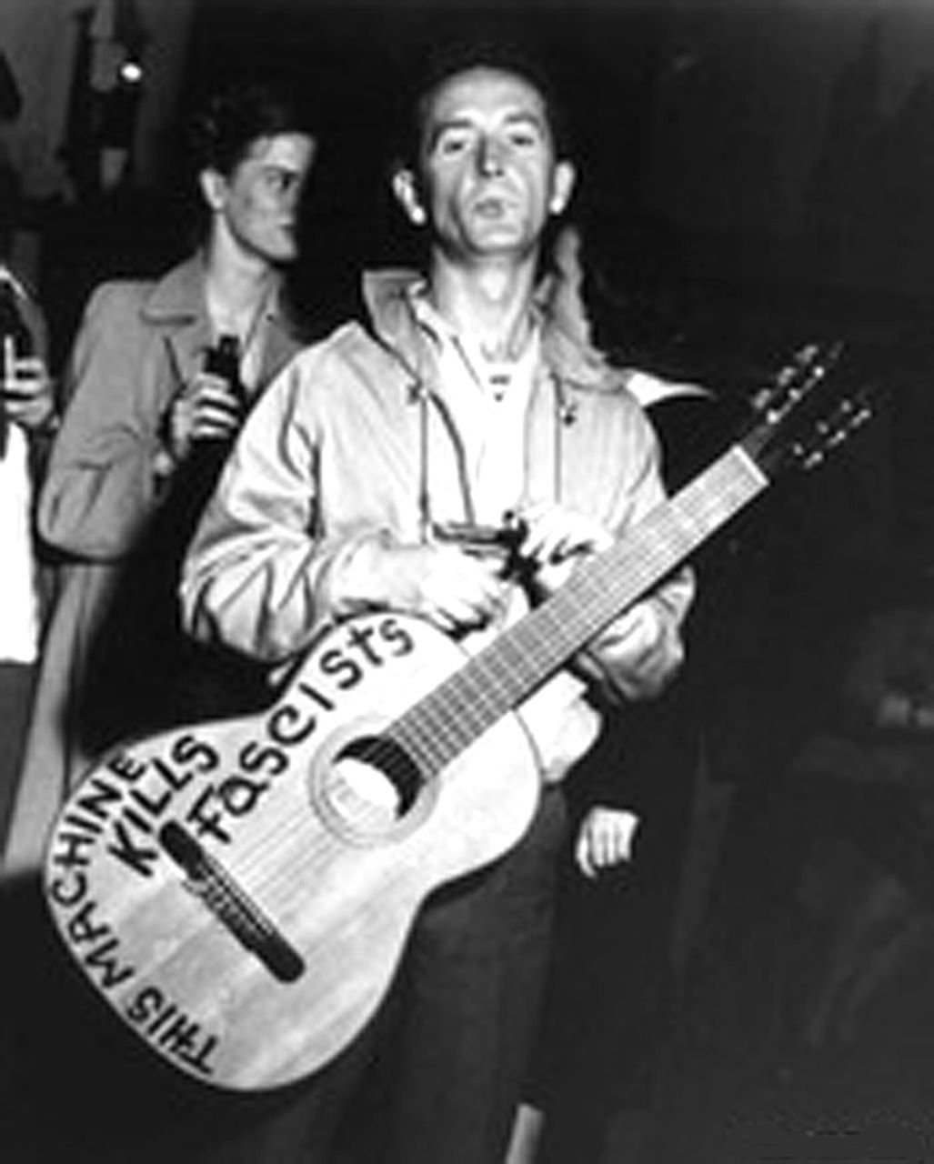 Image result for woody guthrie's guitar