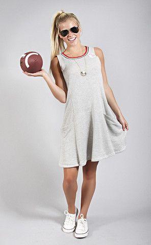 cheerleader retro tank dress