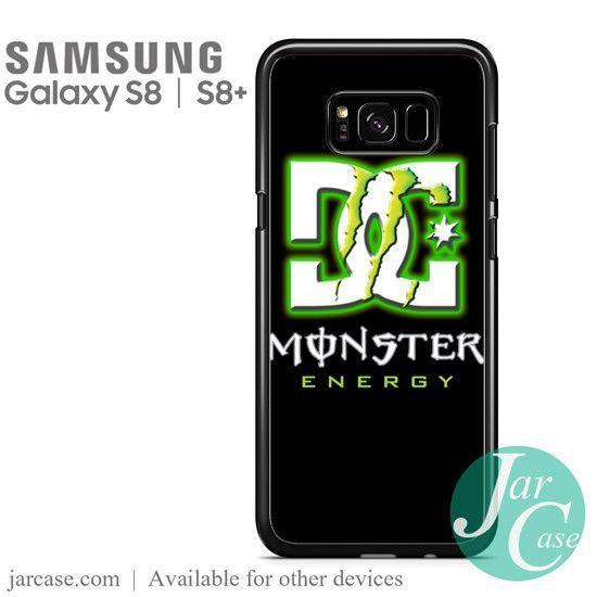Dc Monster Energy Phone Case For Samsung Galaxy S8 S8 Plus Monster Energy Galaxy S8 Samsung