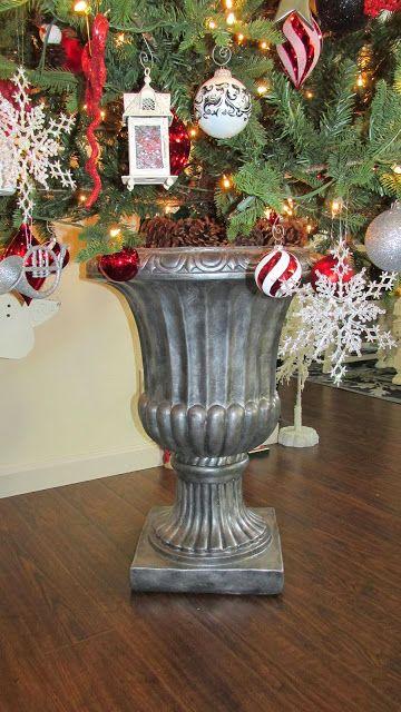 Fleurdelishy Design And Decor Urn Artificial Tree Stand Diy