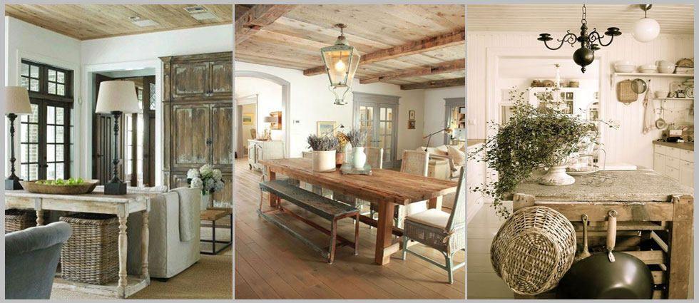 Una casa estilo r stico estilo r stico r stico y for Muebles estilo rustico