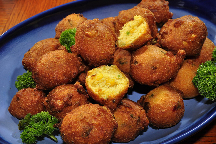 Long John Silvers Hush Puppies Recipe Yummly Recipe Recipes Food Hush Puppies Recipe