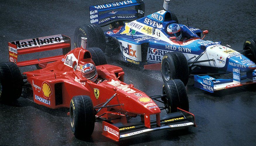 The best looking F1 cars of the 90's