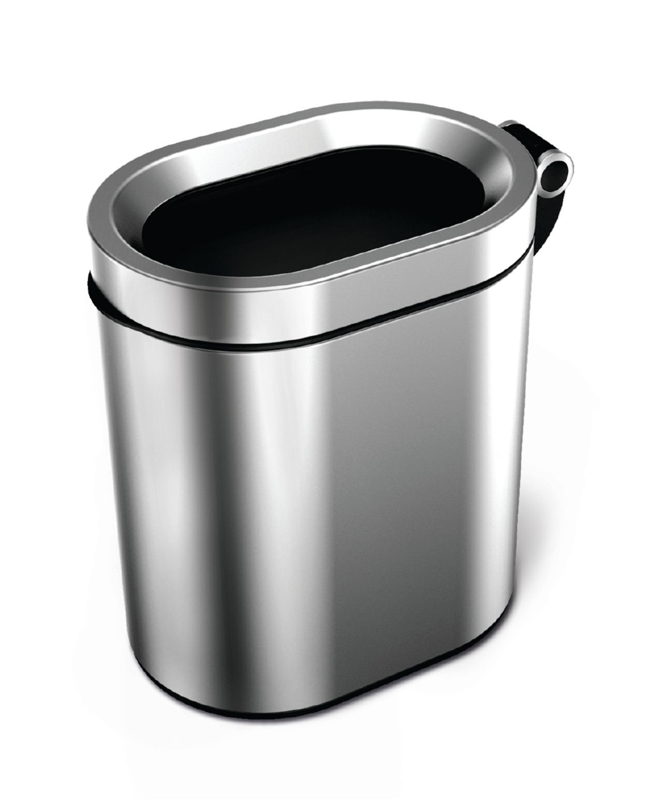 Best Simplehuman Bath Accessories Open Oval Garbage Can With 400 x 300