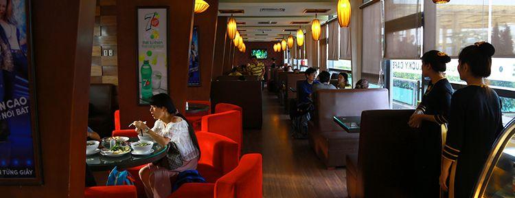Khu vực ăn uống sân bay Đà Nẵng