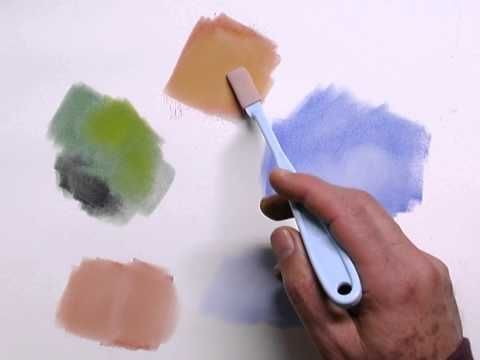Layering & Blending Techniques - PanPastel - YouTube