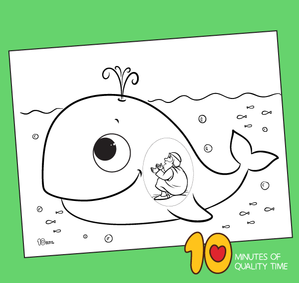 Jonah And The Whale Coloring Pages For Preschoolers In 2020 Whale Coloring Pages Baby Art Projects Sunday School Crafts For Kids