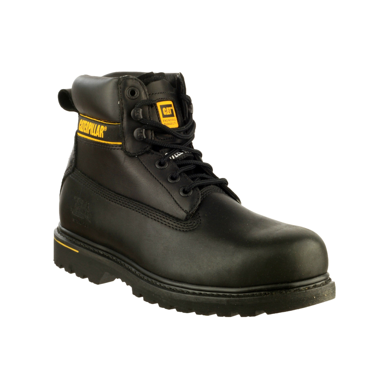 Chaussures De Securite Hautes Caterpillar Holton S3 Bk Coloris Noir T41 Chaussure Bottes De Randonnee Et Noir
