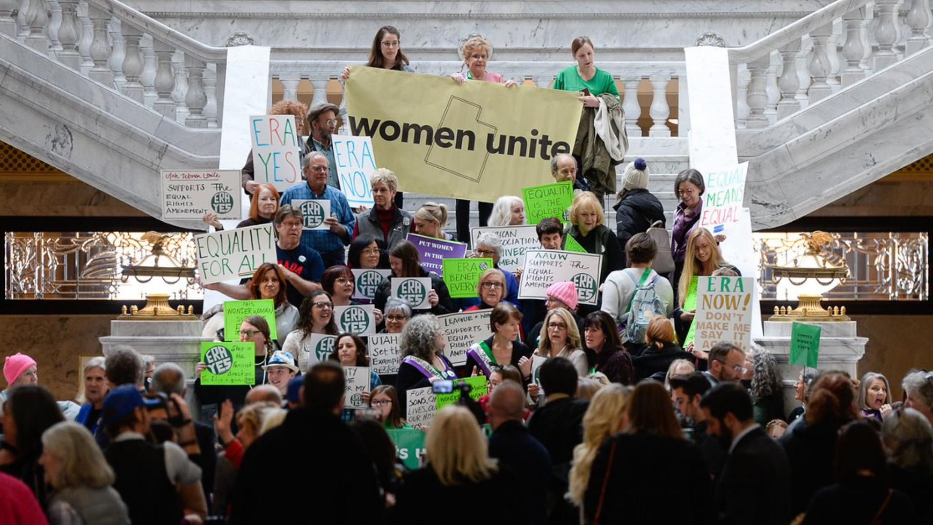 Lds Church Announces It Still Opposes Equal Rights Amendment As Supporters Rally At Capitol Equal Rights Lds Church Equal Rights Amendment