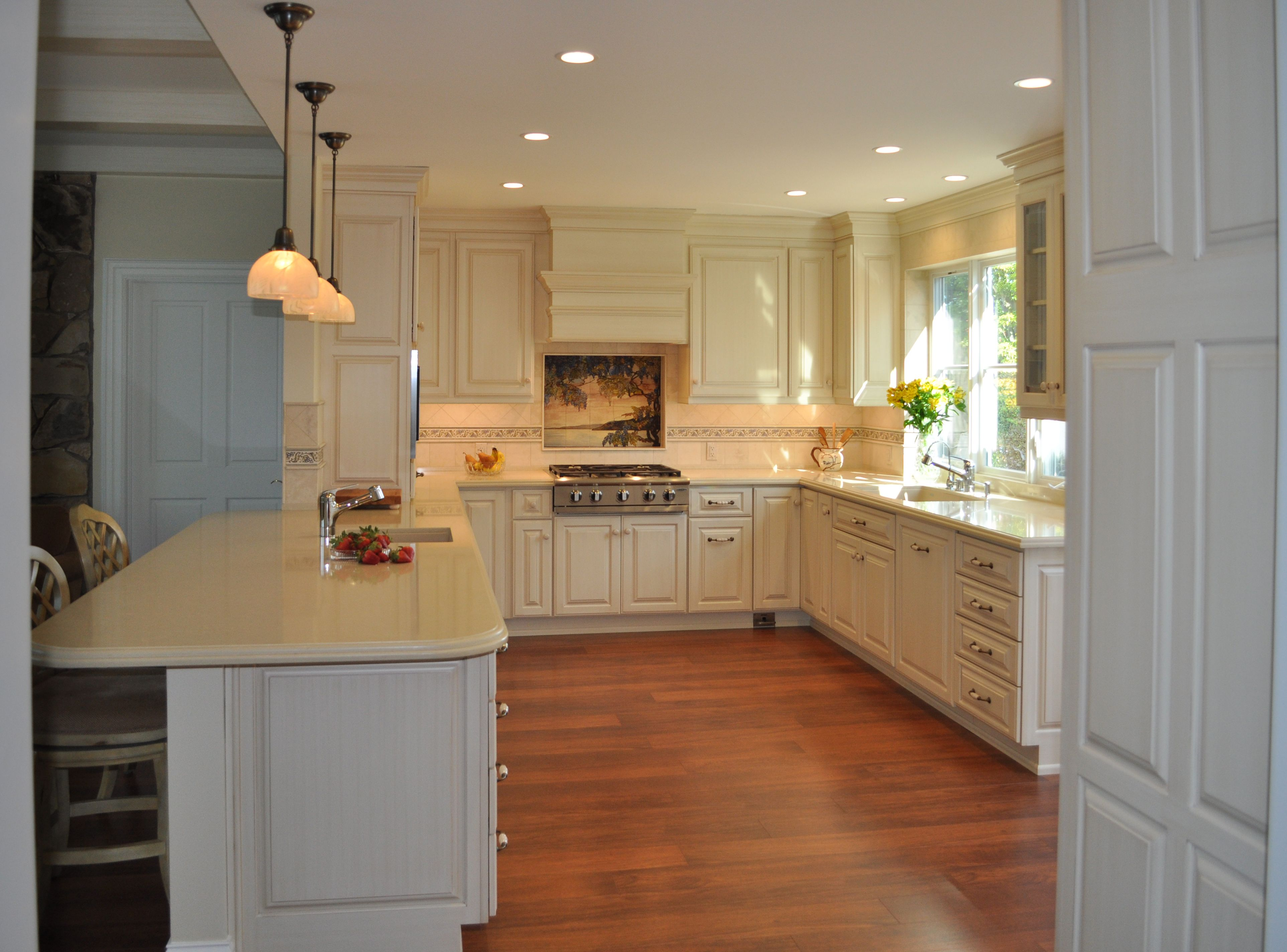 After  Ushape Kitchen More Space And Storage Took Out The Awesome Garden Kitchen Design Inspiration