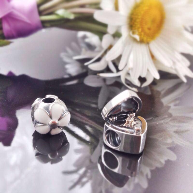 charm cuore con anello pandora