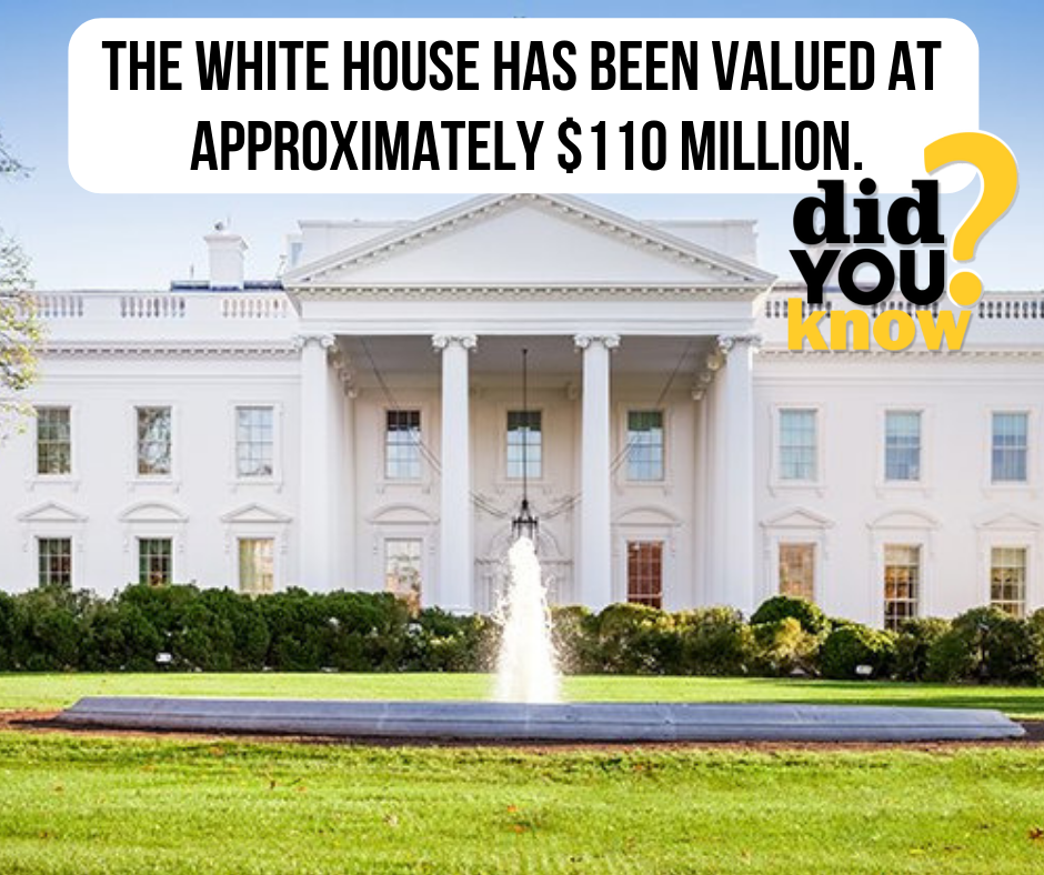 Didyouknow The White House Has Been Valued At Approximately 110 Million Livetheluxeridgdale Theluxeapart Luxury Rentals House Rental Luxurious Bedrooms