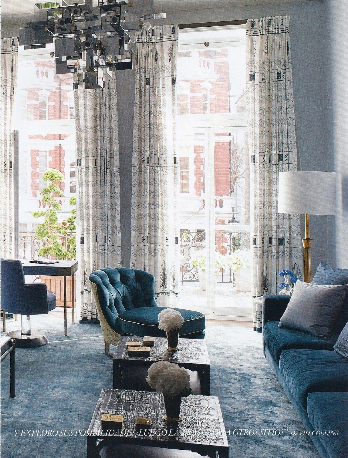 architecture d 39 int rieur un projet par david collins design d coration luxe plus de. Black Bedroom Furniture Sets. Home Design Ideas