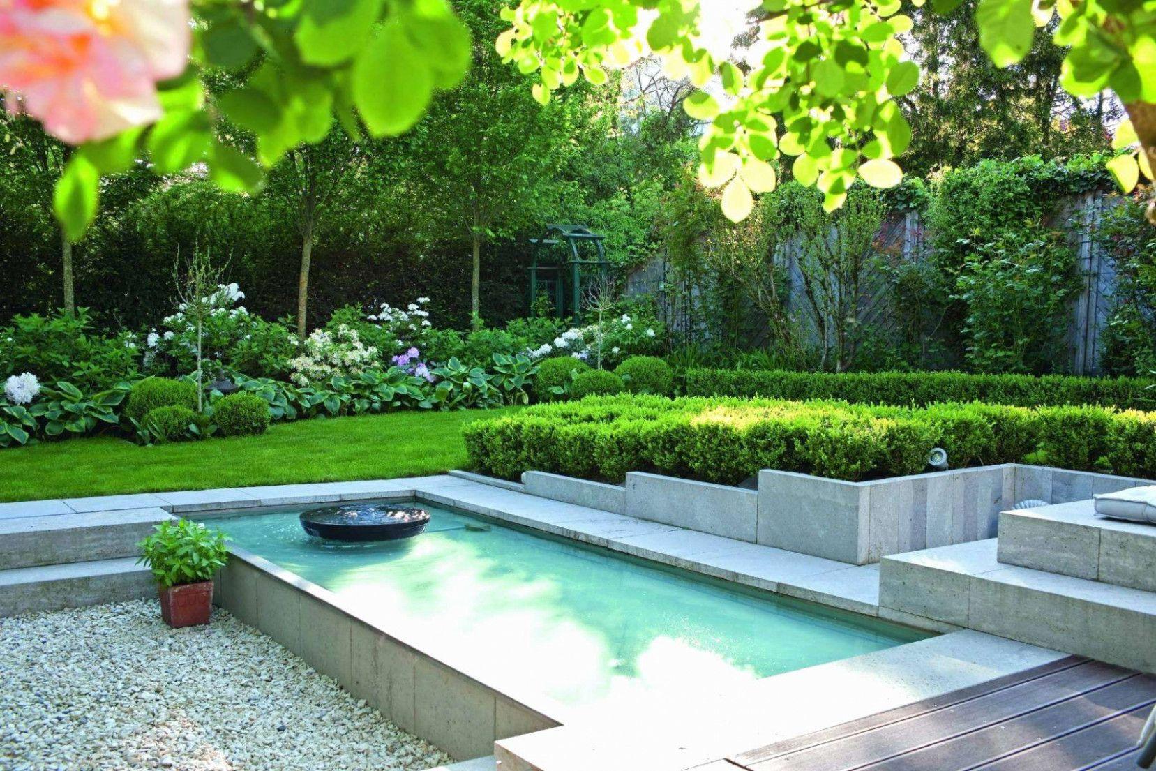 Garten Schon Gestalten In 2021 Pool Landscape Design Backyard Landscaping Pool Landscaping Small backyard landscaping ideas with pool