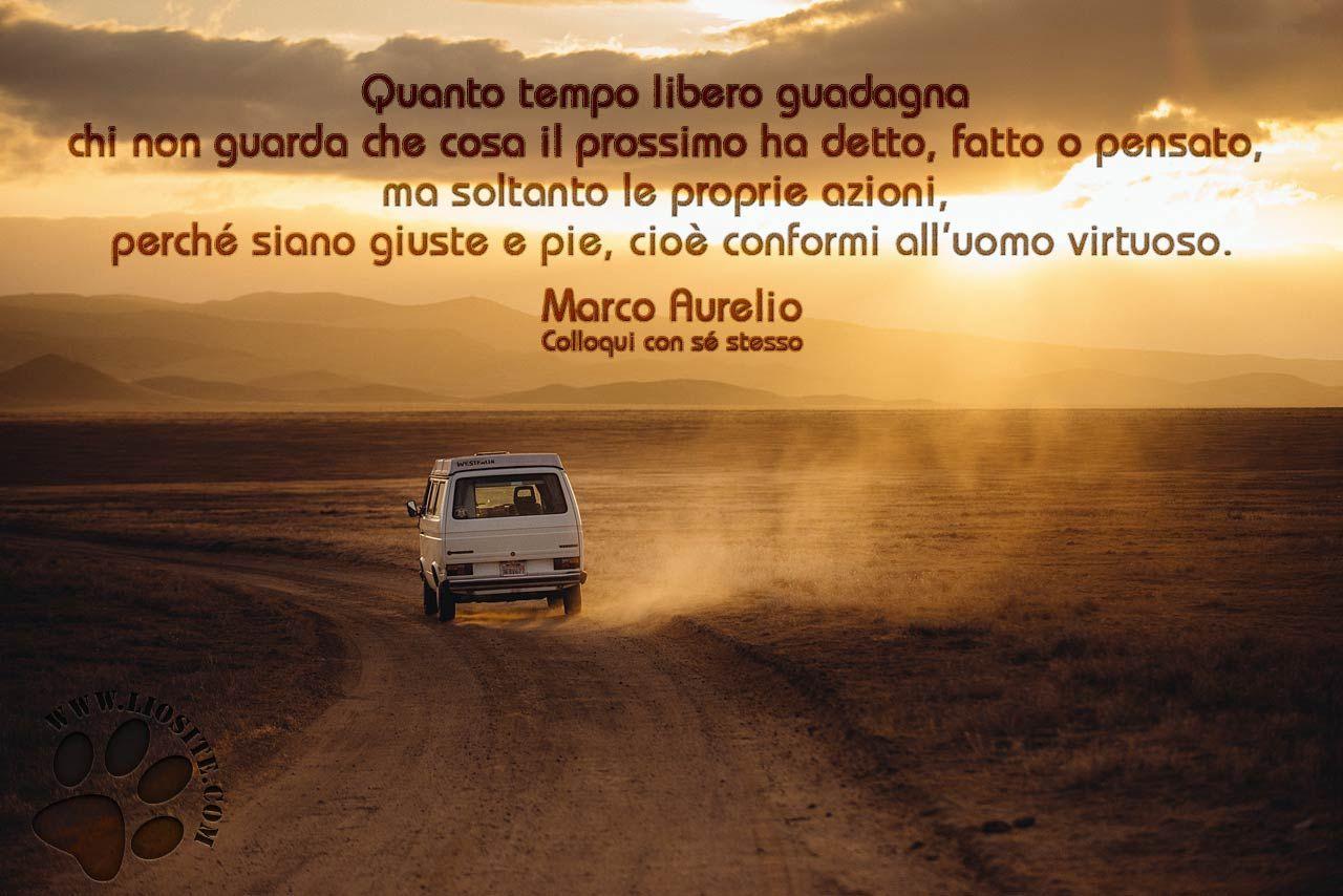 Marco Aurelio Quanto Tempo Libero Spiritualità
