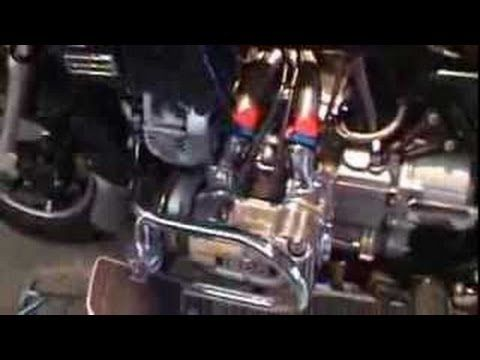 Honda Goldwing gl1200 Single Carb Coversion and Alternator install