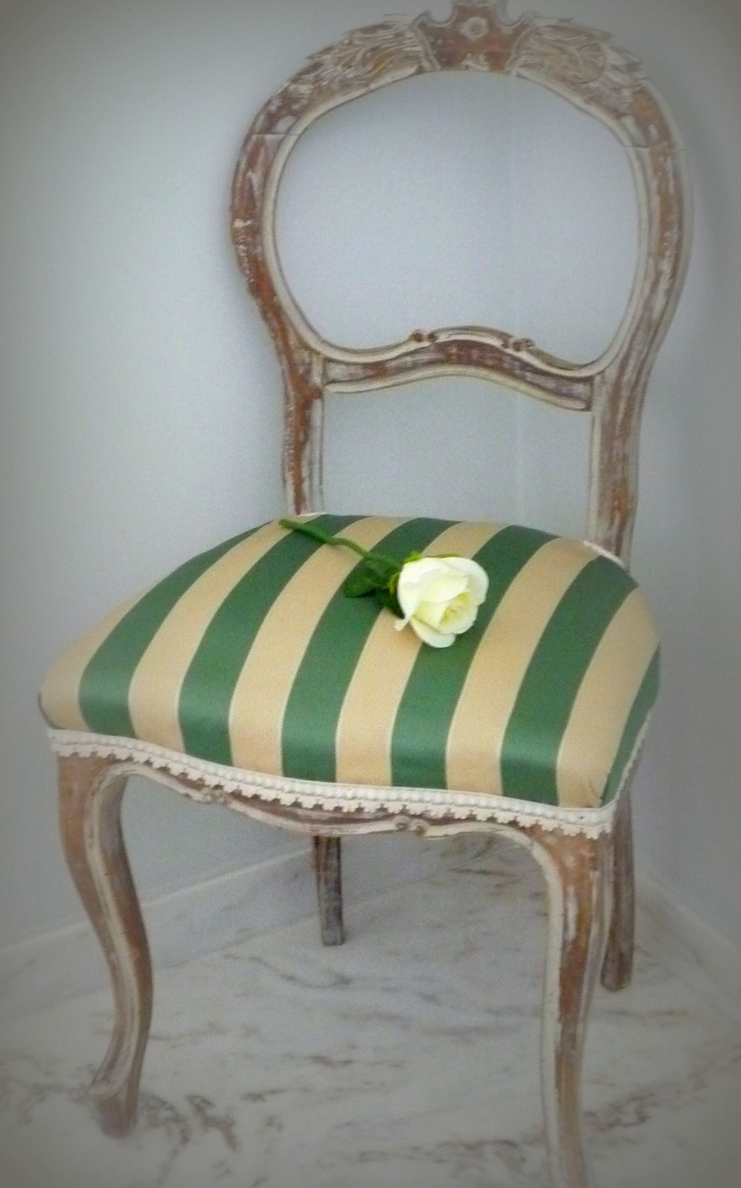 Sedia shabby Decor, Furnishings, Chair