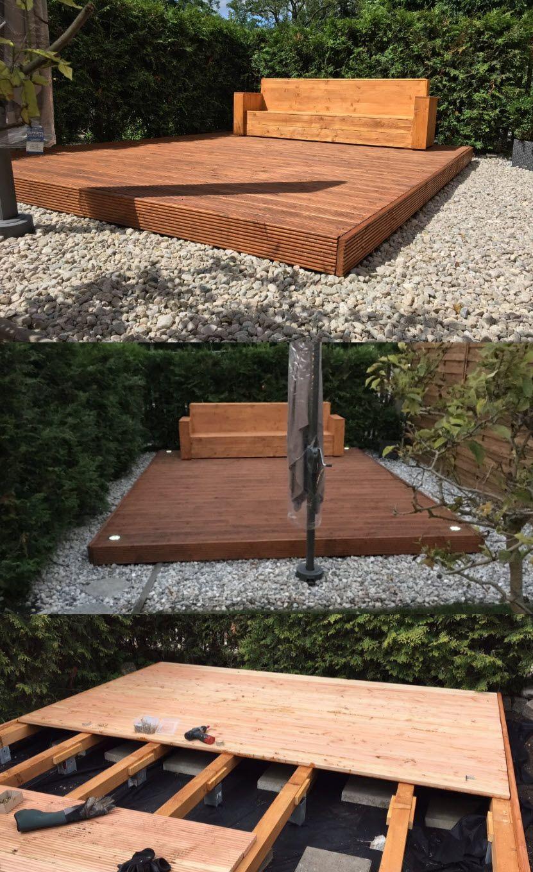 Holzterrasse auf Stelzen   Terrasse holz, Holzterrasse, Holz