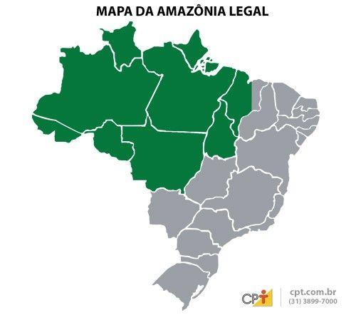 Amazonia Mapa Pesquisa Google Poluição