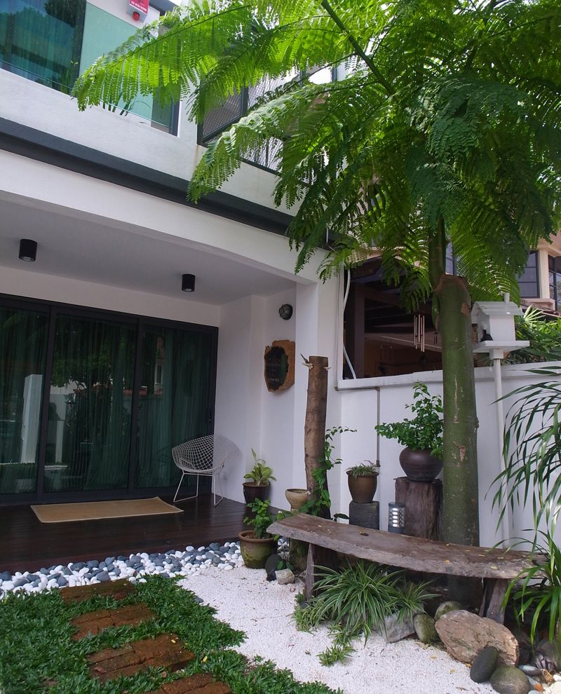 Renovated Sunway Damansara Home   Terrace House Garden Landscape Design