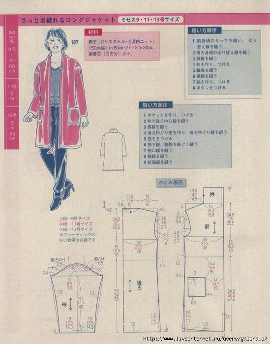 Pin de Lora en выкройки одежды- 3 | Pinterest