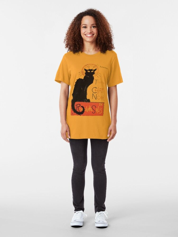 Tournee Du Chat Noir After Steinlein Essential T Shirt By Taiche Classic T Shirts Tournee Du Chat Noir Tshirt Designs