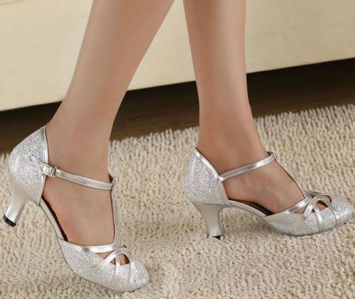 Details About Ballroom Latin Dance Practice Shoes Women S