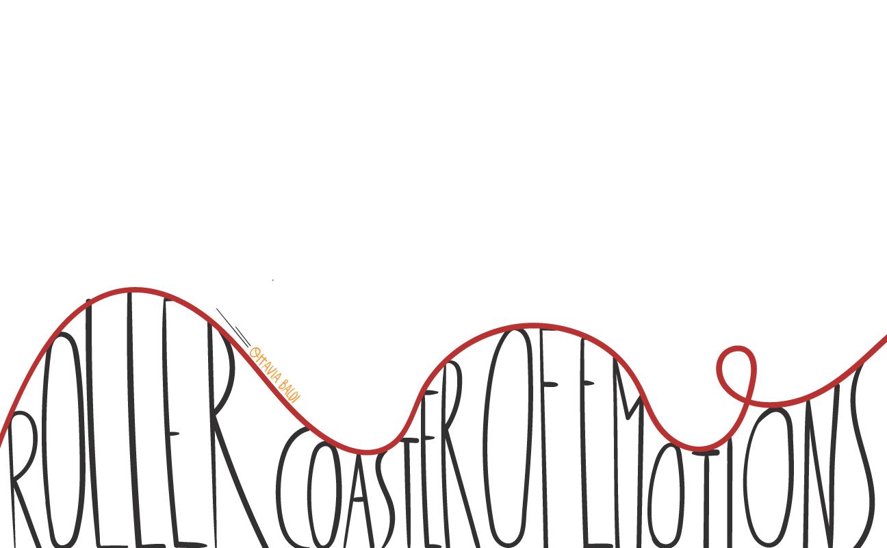 Frabanananas Roller Coaster Drawing Roller Coaster Poster Design