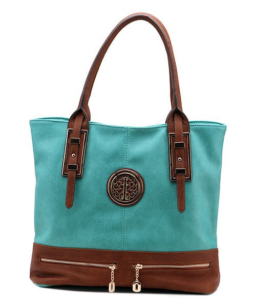 Look at this Turquoise Isabelle Tote on #zulily today!