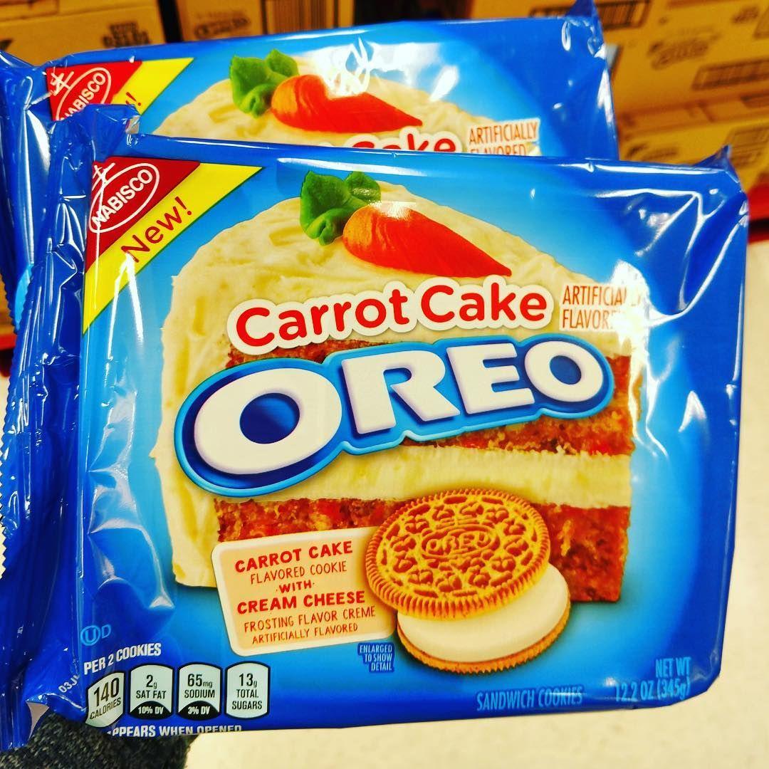 Carrot cake oreo targetwalmart comida oreo