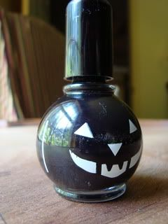 Black nail polish for #Halloween (and any other time).