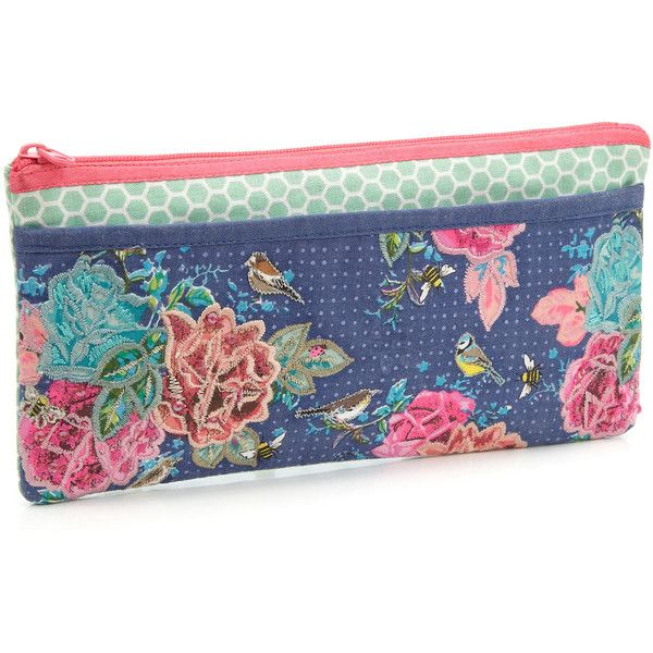 Accessorize Home Grown Pocket Pencil Case (46 BRL) ❤ liked on Polyvore featuring…
