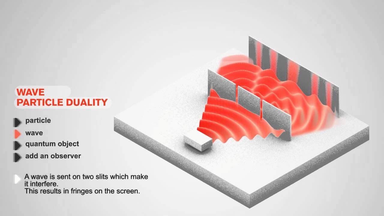 Wave Particle Duality Animation Data Burger Physics Mechanics Quantum Physics Spirituality Waves
