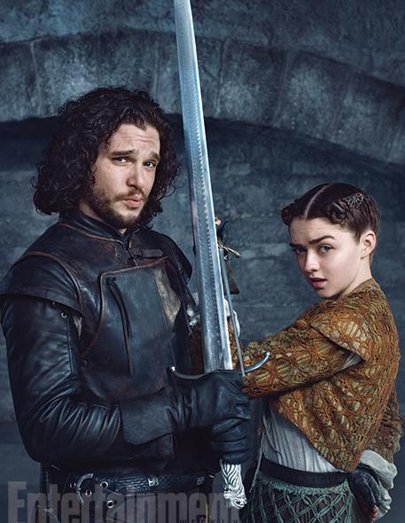 Entertainment Weekly On Twitter Game Of Thrones Cast Jon Snow Jon And Arya