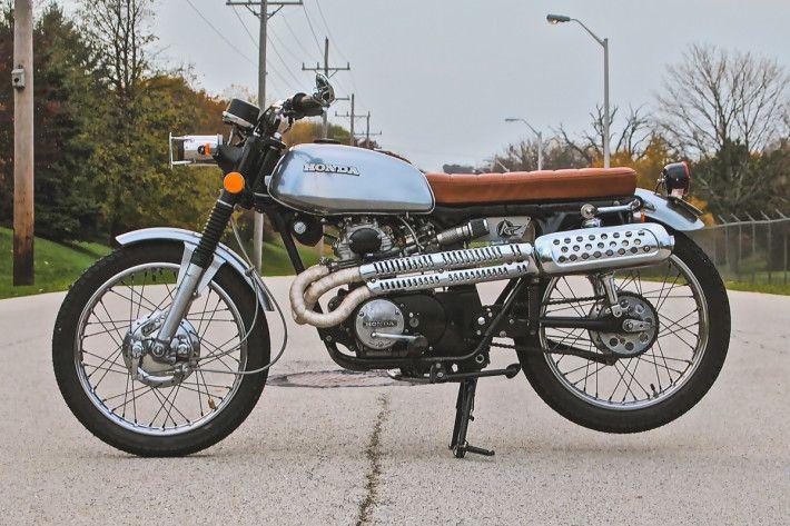 1973 Honda Cl175 Little Patina Analog Motorcycles Vintage Honda Motorcycles Cafe Racer Honda Honda
