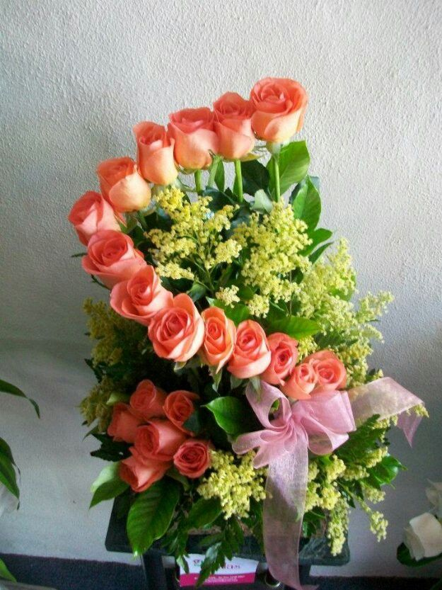 Hermoso Arreglos De Rosas Arreglos Florales Y Arreglo
