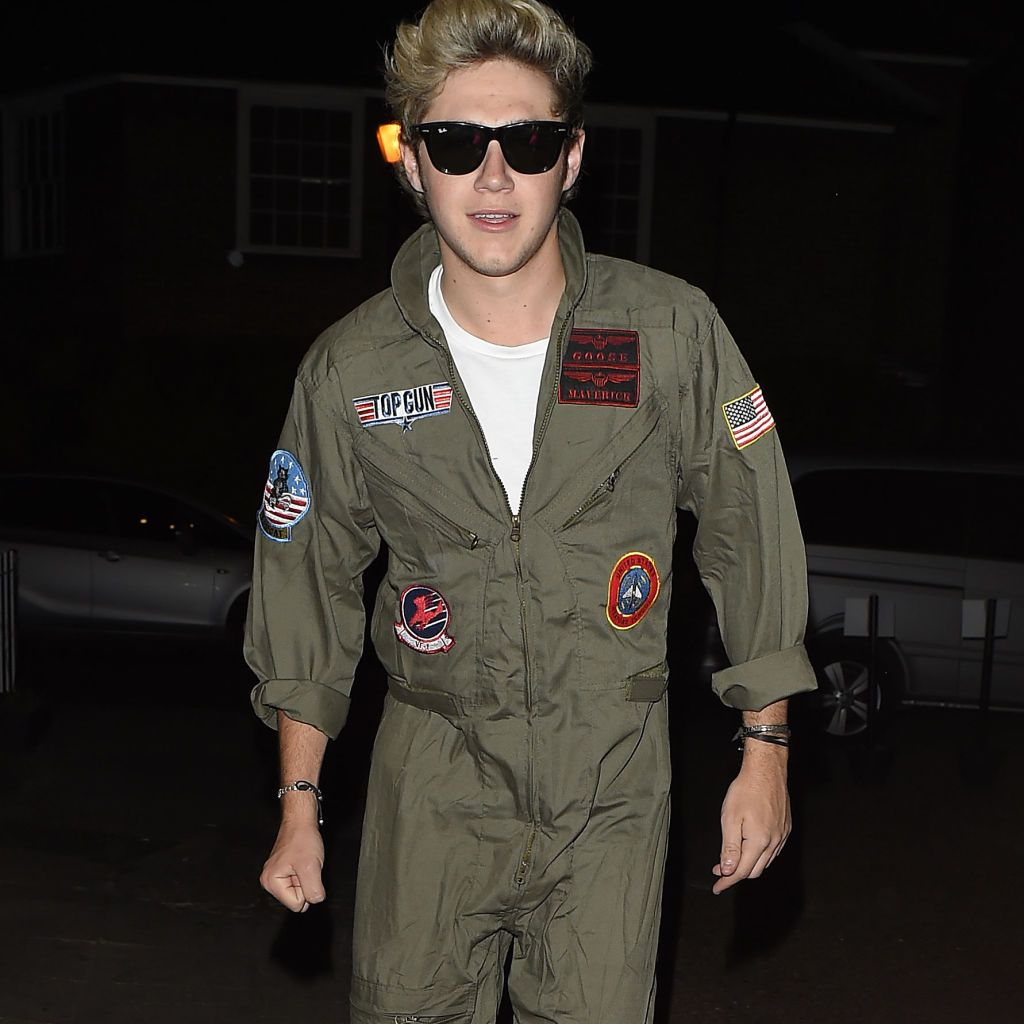 Niall Horan - Top Gun at Laura Whitmore's birthday party