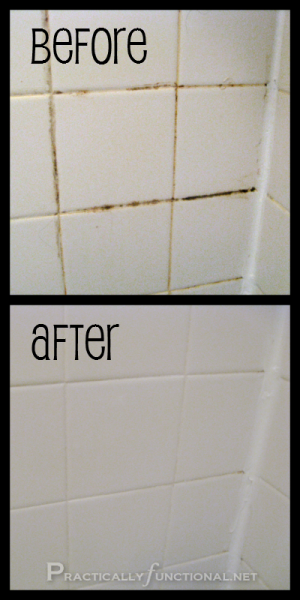 How To Clean Grout With A Homemade Grout Cleaner Home Pinterest - Bleaching grout floor tiles