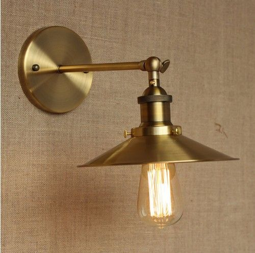 Nordic Edison Wall Sconce Retro Loft Style Industrial Vintage Wall ...