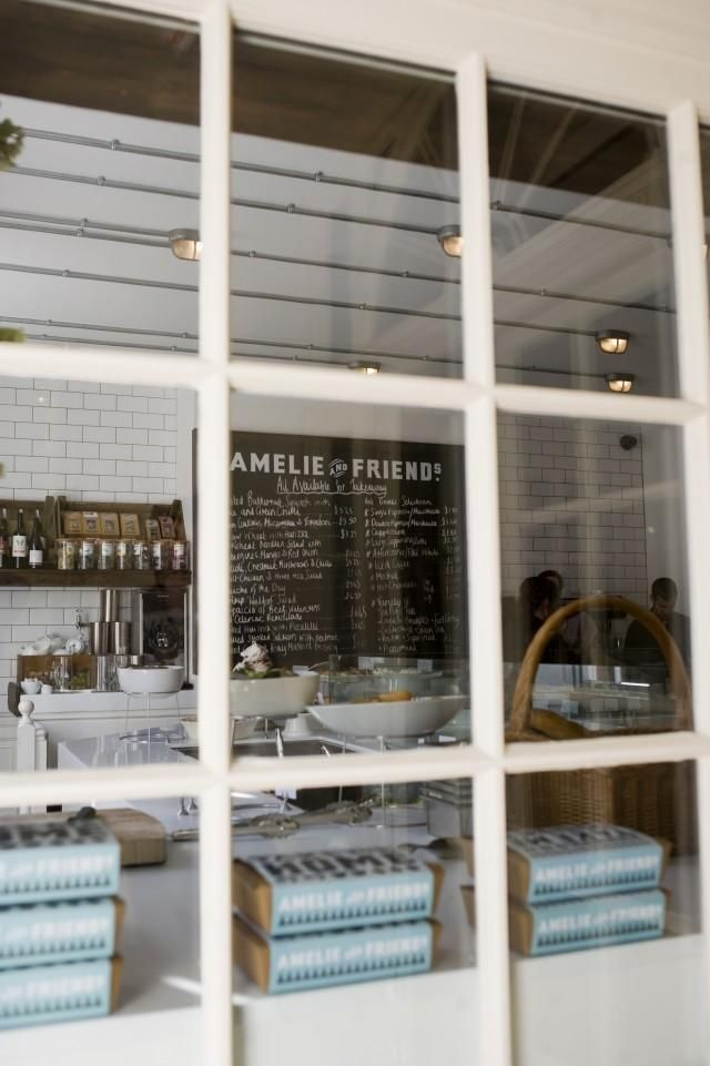 amelie and friends subway tile graphic chalkboard restaurant graphics cafe window