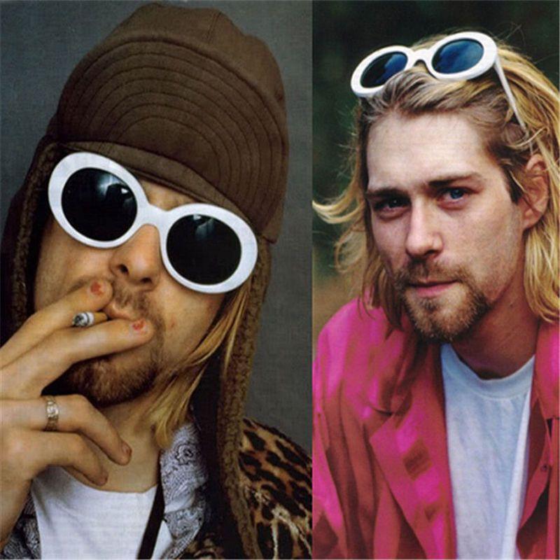 2ec713ee77 90 Nirvana Vintage Oval Glasses Kurt Cobain Sunglasses Round Saint Clout  Goggles