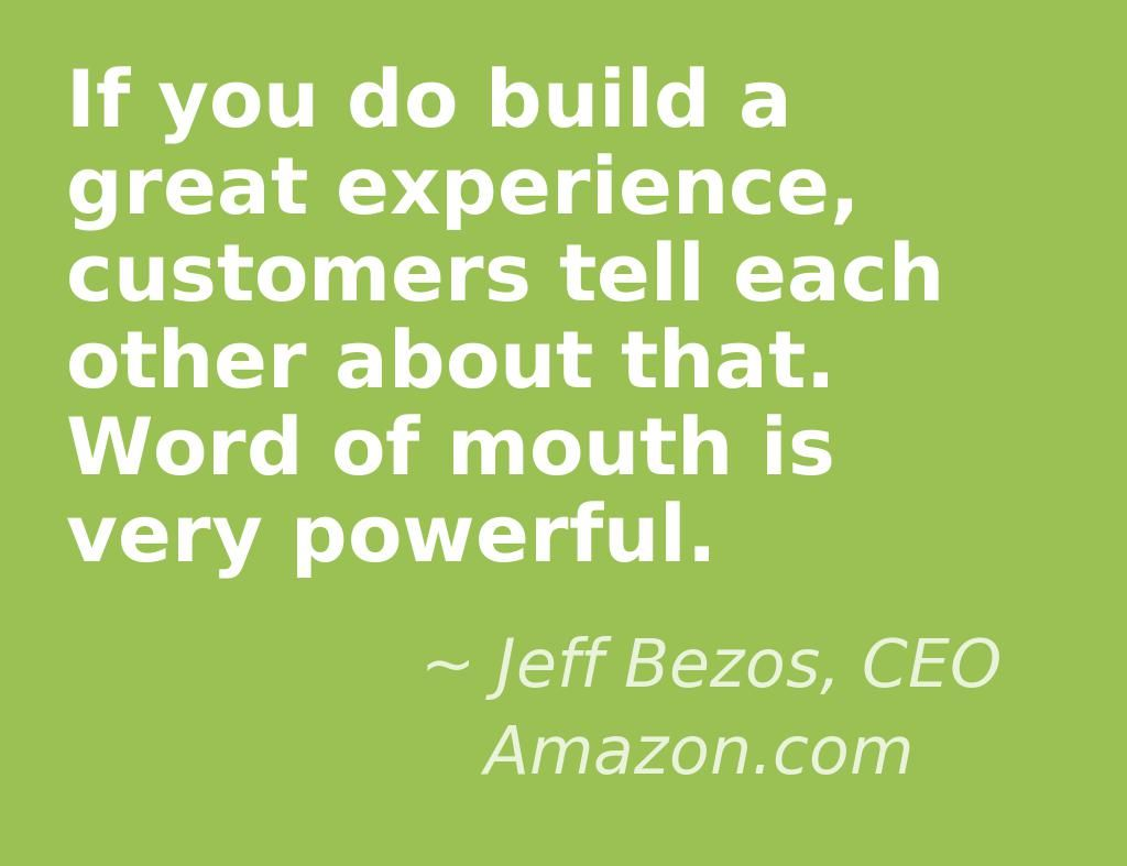 Team Building Quotes If You Do Build A Great Experience Customers Tell Each Other