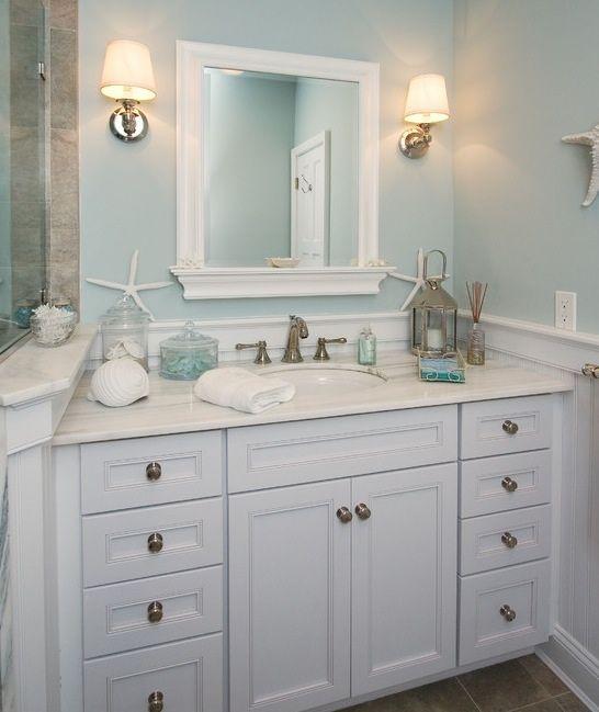 Light and Airy | Beach theme bathroom, Cottage bathroom ...