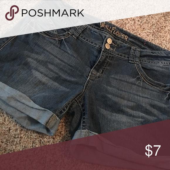 Denim shorts Gently used. Smoke free home. Shorts Jean Shorts