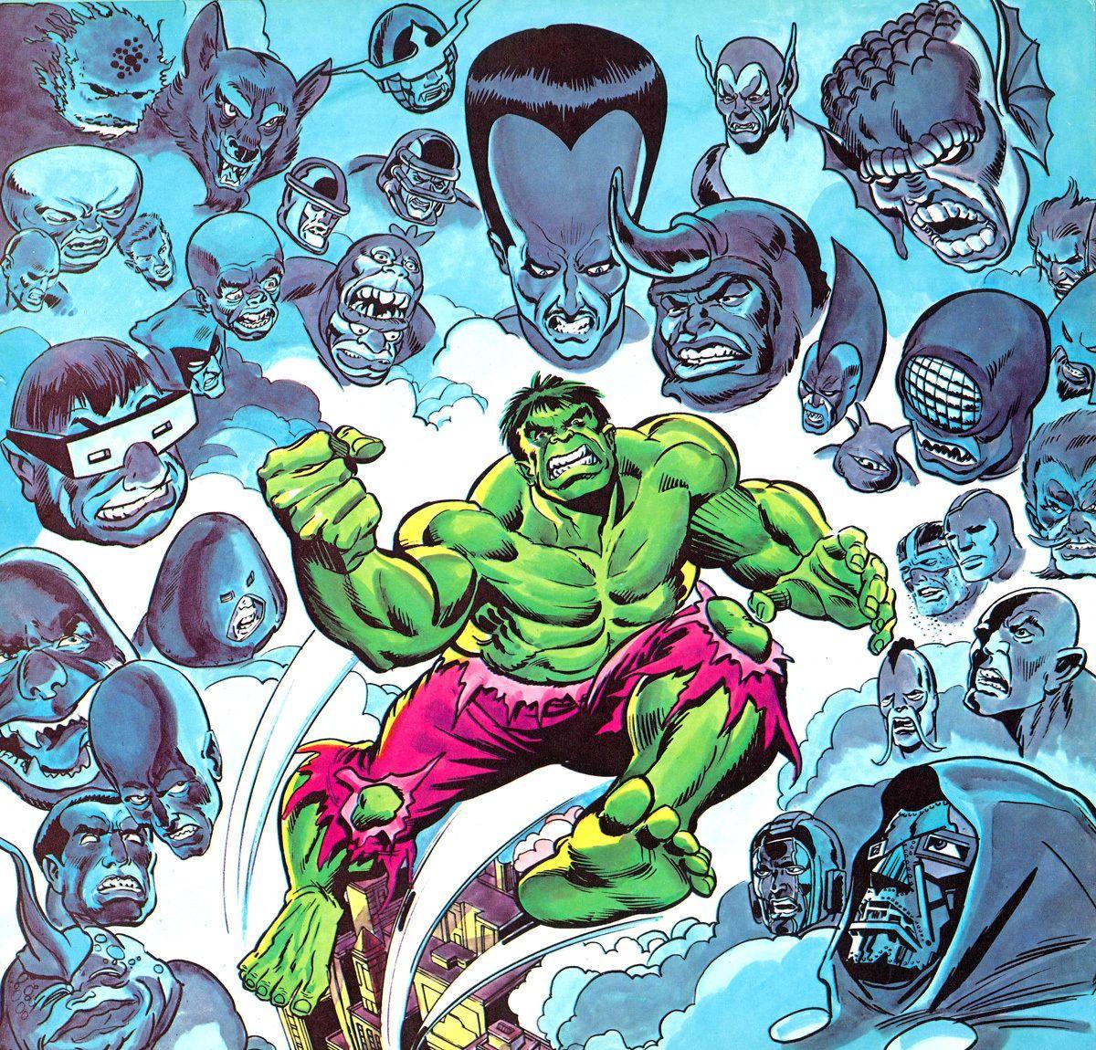 Many Foes Has the Hulk!