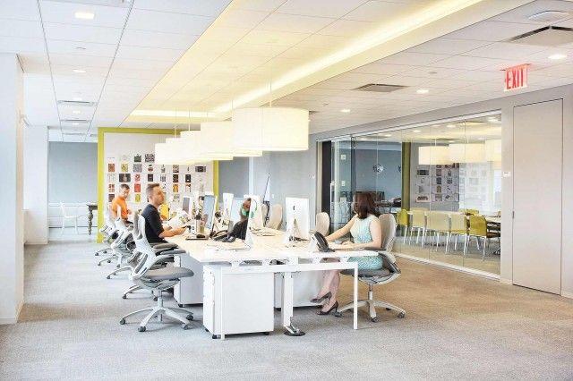 open office ceiling decoration idea. Open Office Ceiling Decoration Idea. Mccann - New York City Offices  Snapshots Idea S