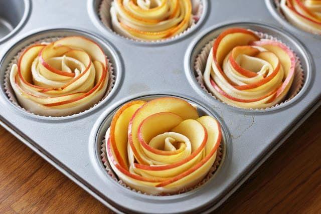 Ein Strauß Blätterteig Rosen zum Muttertag - Fashion Kitchen