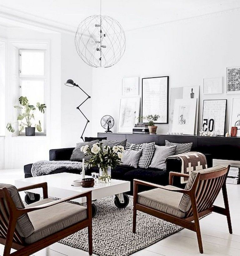 90 Warm Scandinavian Living Room Design Trends Livingroom Livingroomideas Li Living Room Scandinavian Scandinavian Design Living Room Minimalist Living Room