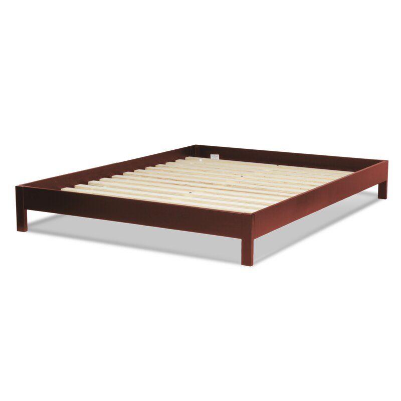 Jerrica Platform Bed Reviews Allmodern Wood Platform Bed